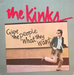 The Kinks poster: Give the People What They Want vintage LP/Album flat