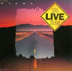 The Kinks poster: Live - The Road vintage LP/Album flat