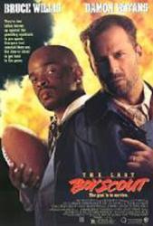 The Last Boy Scout movie poster [Bruce Willis & Damon Wayans] video