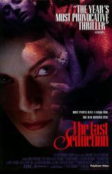 The Last Seduction movie poster [Linda Fiorentino] 27x40 video version
