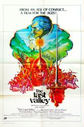 The Last Valley movie poster (1971) [Michael Caine, Omar Sharif] 27x41
