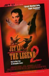 Jet Li's The Legend 2 movie poster [Jet Li] 26x40 NM