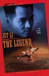 The Legend movie poster [Jet Li] 26x40 video version