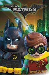 The LEGO Batman Movie poster (22x34) LEGO Batman & Robin