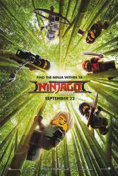 The LEGO Ninjago Movie poster (2017) original 27x40 advance
