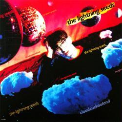 The Lightning Seeds poster: Cloudcuckooland vintage album flat (1990)