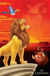 The Lion King movie poster: Pride Rock (24x36) 1994 Disney film