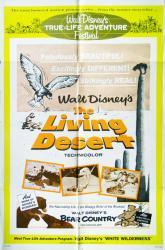 The Living Desert movie poster [Disney 1964 re-issue] original 27x41