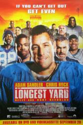 The Longest Yard movie poster [Adam Sandler, Chris Rock] 27x40 video