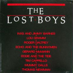 The Lost Boys soundtrack poster: Vintage LP/Album flat