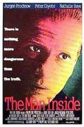 The Man Inside movie poster (1990) [Jürgen Prochnow] original 27x41