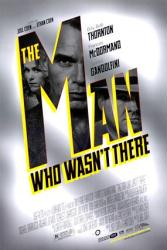 The Man Who Wasn't There movie poster [Coen Brothers] original 27x40