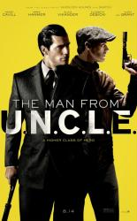 The Man From U.N.C.L.E movie poster [Henry Cavill, Armie Hammer] 27x40