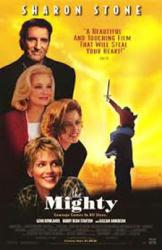 The Mighty movie poster [Gillian Anderson, Sharon Stone] 26x40