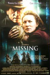 The Missing movie poster [Tommy Lee Jones, Cate Blanchett] 27x40 video
