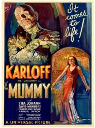 The Mummy movie poster [Boris Karloff] 1932 Universal (18x24)