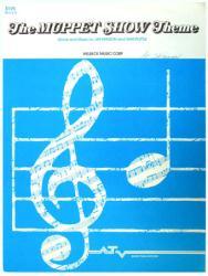 The Muppet Show Theme vintage sheet music [Jim Henson, Muppets] 1978