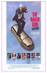 The Naked Gun movie poster (1988) [Leslie Nielsen] original 27x41