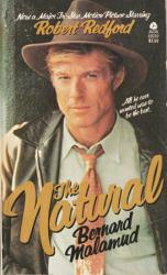 The Natural paperback book [Robert Redford on cover]