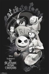 The Nightmare Before Christmas movie poster: RIP (22x34)