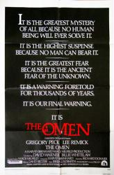 The Omen movie poster (1976) Style E original 27x41