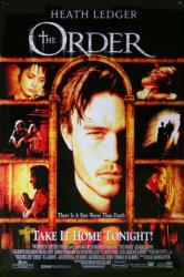 The Order movie poster [Heath Ledger] 27x40 video version GD