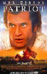 The Patriot movie poster [Mel Gibson] video poster/NM