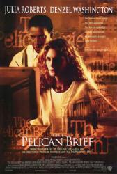 The Pelican Brief movie poster [Julia Roberts/Denzel Washington] 27x40