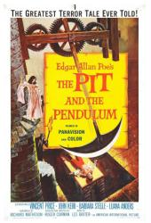 The Pit and the Pendulum movie poster [1961 Roger Corman film] 18x24