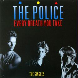 The Police poster: Every Breath You Take - The Singles LP/Album flat