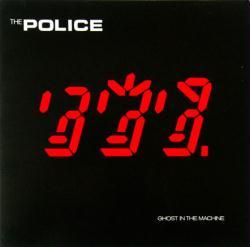 The Police poster: Ghost in the Machine vintage LP/Album flat (1981)