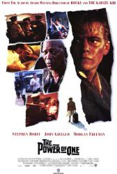The Power of One movie poster [Stephen Dorff, Morgan Freeman] 27x40