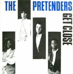 The Pretenders poster: Get Close vintage LP/Album flat