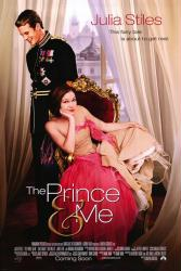 The Prince & Me movie poster [Julia Stiles & Luke Mably]