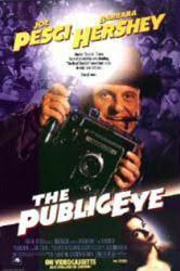 The Public Eye movie poster [Joe Pesci & Barbara Hershey] video poster