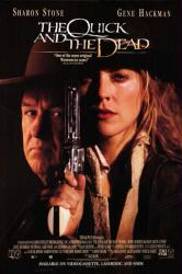 The Quick and the Dead movie poster [Gene Hackman & Sharon Stone]