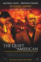 The Quiet American movie poster [Michael Caine, Brendan Fraser] 26x40