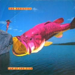 The Radiators poster: Law of the Fish vintage LP/Album flat