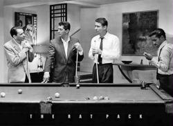 The Rat Pack poster: Pool Table (36x24) Sinatra, Martin, etc.