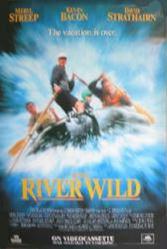The River Wild movie poster [Meryl Streep, Kevin Bacon] 27x40