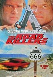 The Road Killers movie poster [Christopher Lambert, Craig Sheffer]