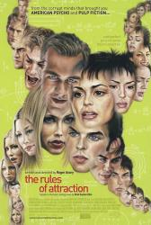 The Rules of Attraction movie poster [Van Der Beek/Sossamon] 27x40