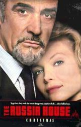 The Russia House movie poster [Sean Connery, Michelle Pfeiffer] 27x40