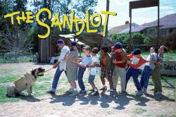 The Sandlot movie poster: Tug of War (36x24) 1993 baseball film