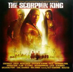 The Scorpion King soundtrack poster: Vintage LP/Album flat