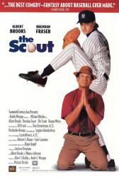 The Scout movie poster [Albert Brooks, Brendan Fraser] 26x40 video