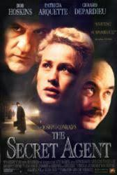 The Secret Agent movie poster /Bob Hoskins/Patricia Arquette/Depardieu