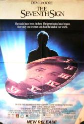 The Seventh Sign movie poster (1988) [Demi Moore] 27x40 video poster