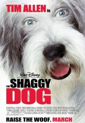 The Shaggy Dog movie poster [Disney] 2006