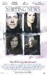 The Shipping News movie poster [Kevin Spacey, Julianne Moore] video